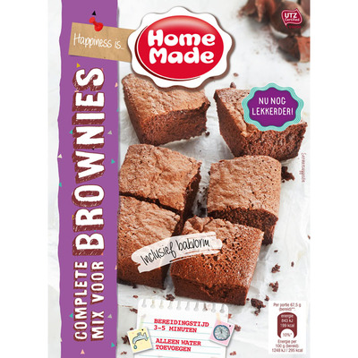 Homemade Complete mix voor brownies