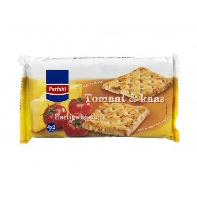 Huismerk Biscuits kaas tomaat