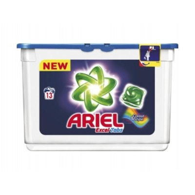 Ariel Excel tabs color wascapsules 13 wasbeurten
