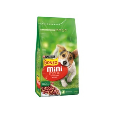 Bonzo Mini menu met rund