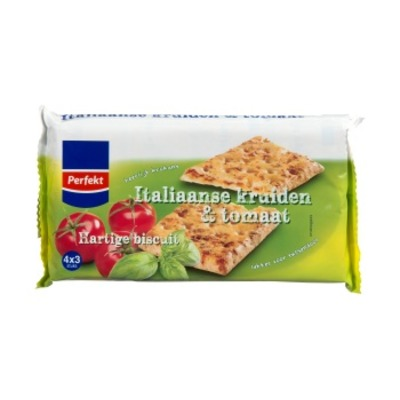 Huismerk Biscuits italiaanse kruiden