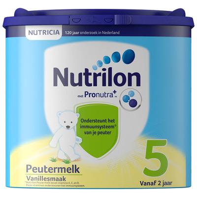 Nutrilon Peutermelk vanille 5