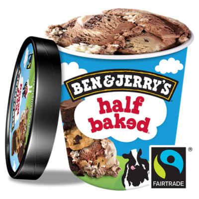 Ben&Jerry's ijs half baked