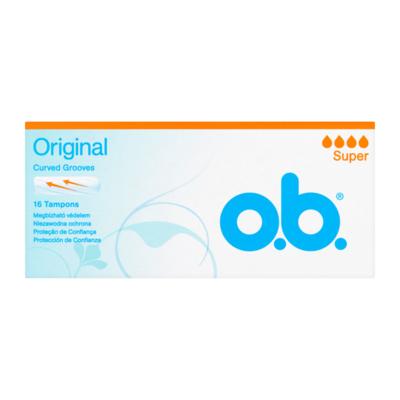 O.B. Original Super Classic Tampons