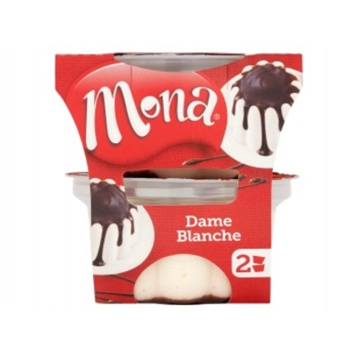 Mona Dame blanche pudding