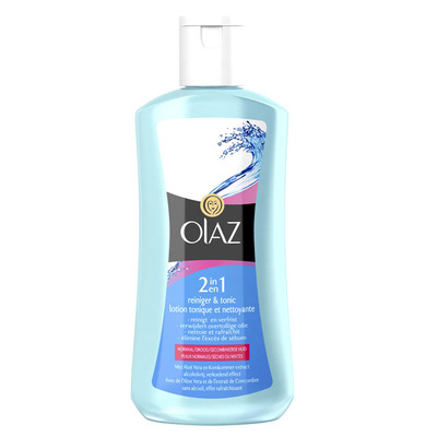 Olaz 2-in-1 reiniger en tonic