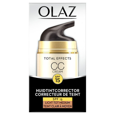 Olaz Total effects CC Cream licht-medium