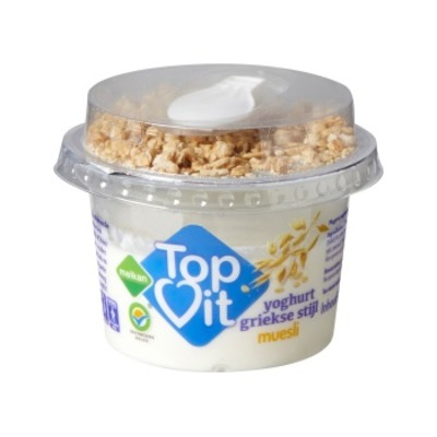 Melkan Topvit yoghurt grieks muesli