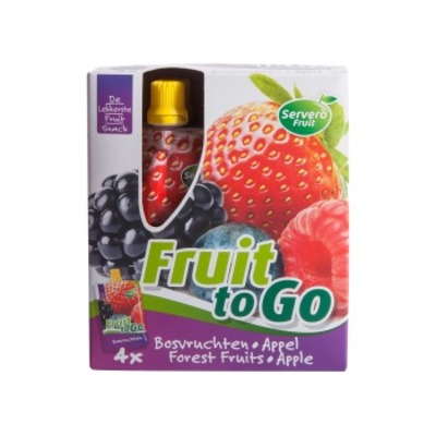 Servero Fruit to go bosvruchten appel