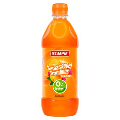Slimpie Sinaasappel Framboos Siroop