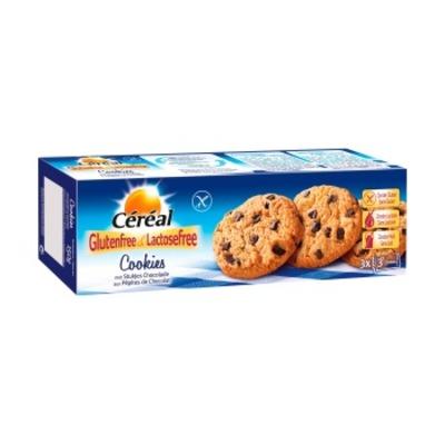 Céréal Cookies chocolade gluten-en lactosevrij