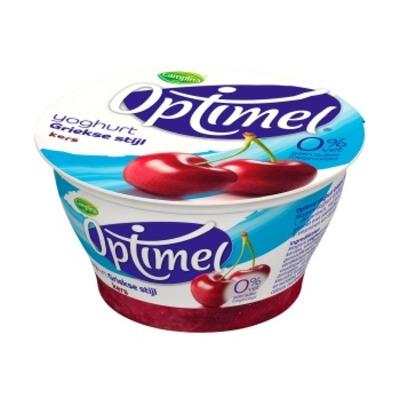 Optimel Yoghurt Grieks kers