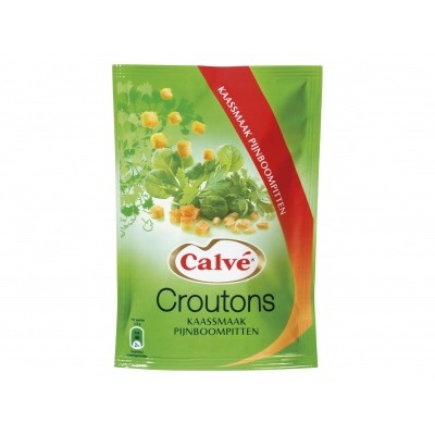 Calvé Croutons Kaas Pijnboompitten