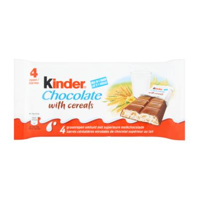 Kinder Graanreep Omhuld met Superieure Melkchocolade