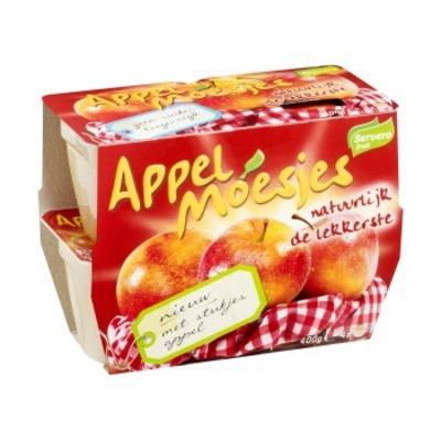 Servero Appelmoesjes met stukjes appel