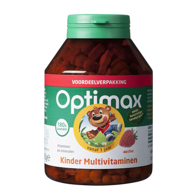Optimax Kinder multi aardbei