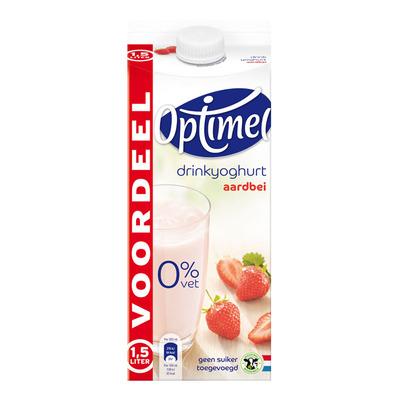 Optimel Drinkyoghurt aardbei voordeel