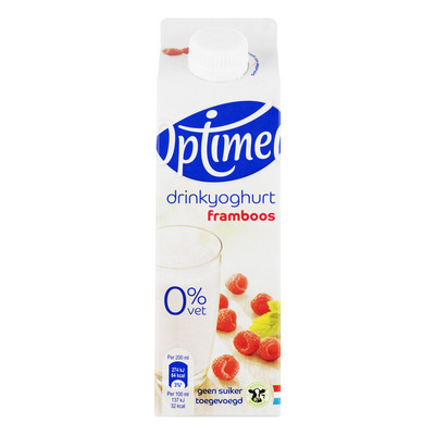 Optimel Drinkyoghurt framboos