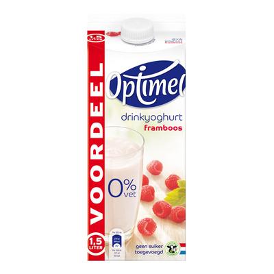 Optimel Drinkyoghurt framboos voordeel