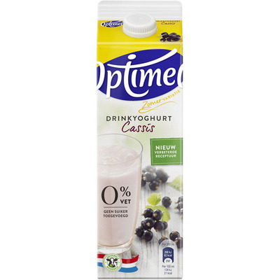 Optimel Drinkyoghurt cassis