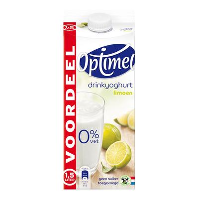 Optimel Drinkyoghurt limoen voordeel
