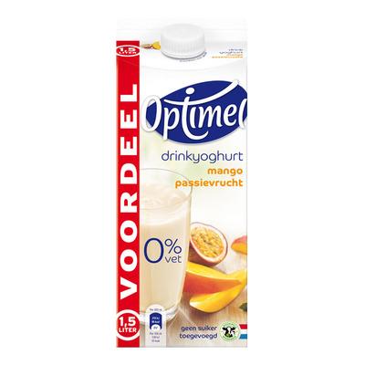 Optimel Drinkyoghurt mango-passievrucht voordeel
