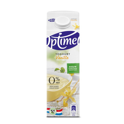 Optimel Magere yoghurt vanille