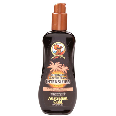 Australian Gold Bronzing dry oil spray intensifier