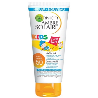 Ambre Solaire Kids Zonnebrand Easy Protect factor 50