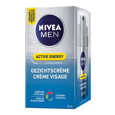 Nivea Men Q10 gezichtscrème energy