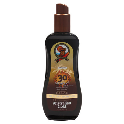 Australian Gold Bronzer spray high protection SPF 30