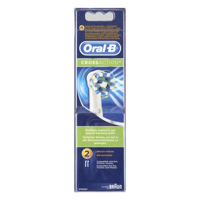 Oral-B CrossAction vervangende borstelkoppen