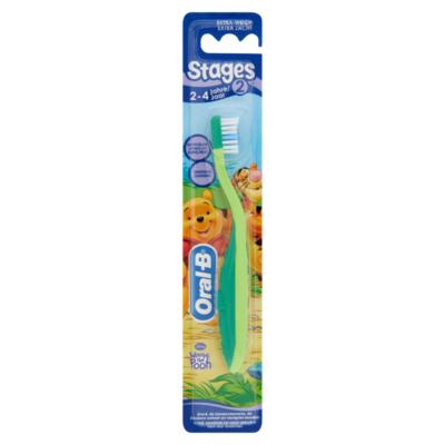 Oral-B Stages 2 Tandenborstel voor Kinderen (2-4 jaar)