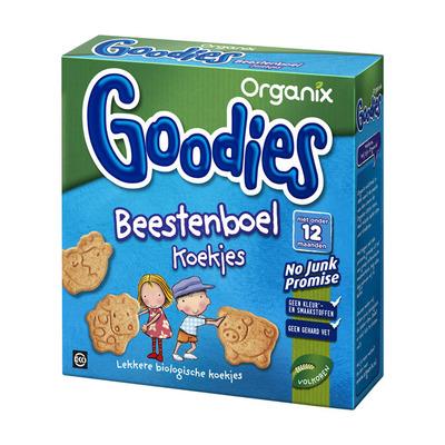 Organix Goodies beestenboel koekjes 12+ mnd