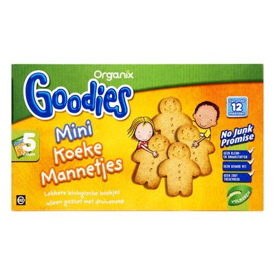 Organix Goodies mini koeke mannetjes 12+ mnd