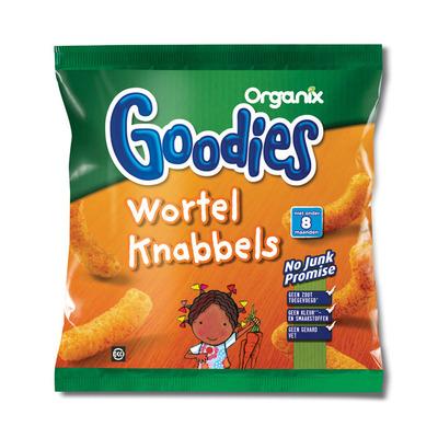 Organix Goodies wortelknabbels 8+ mnd