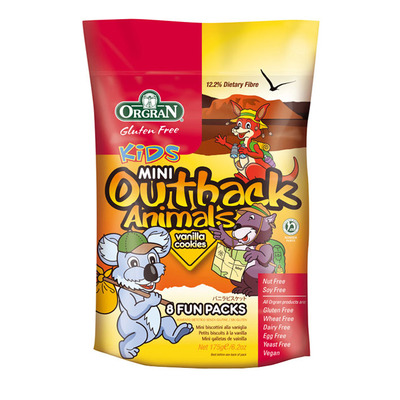 Orgran Outback animals vanillie