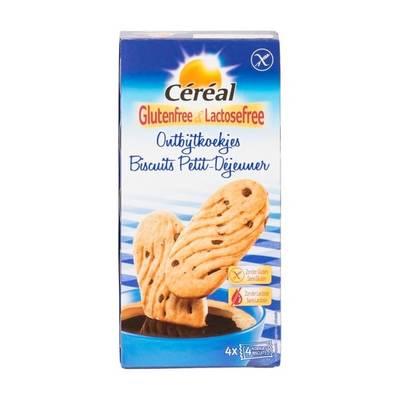 Céréal Glutenfree & Lactosefree Ontbijtkoekjes