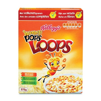 Kellogg's Ontbijtgranen Honey Loops