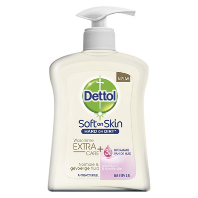 Dettol Wascrème extra care gevoelige huid