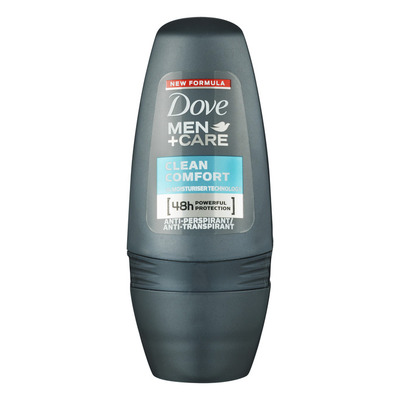 Dove Deodorant roller men clean comfort