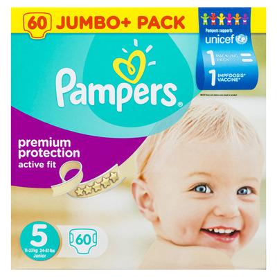 Pampers Active fit luiers maat5 (junior) 11-23kg