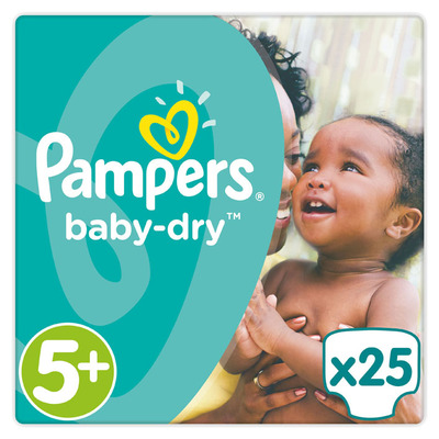 Pampers Baby-dry maat 5+