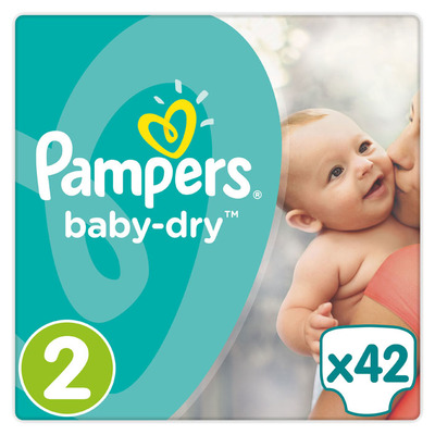 Pampers Baby-dry maat 2