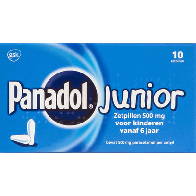 Panadol Junior 500 mg