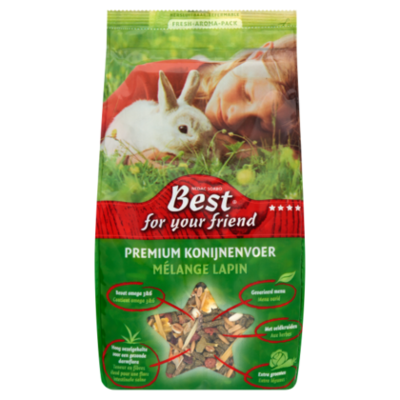 Best For Your Friend Premium konijnenvoer