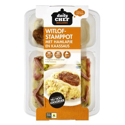 Huismerk Witlof Stamppot Ham/kaas