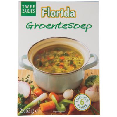 Florida Groentesoep 2 x 6 borden