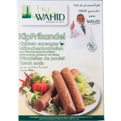 Wahid Frikandellen 10 stuks halal