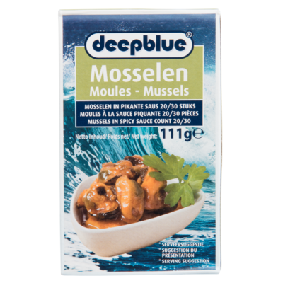 Deepblue Mosselen in pikante saus